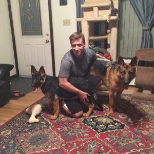 Jesse, Koda and Luther